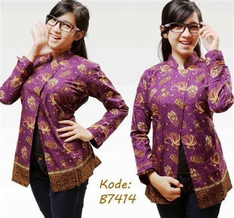 Baju Seragam Guru 21 model baju seragam batik kerja guru wanita modis