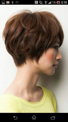 bi level short haircuts bi level layered haircut hair pinterest layered