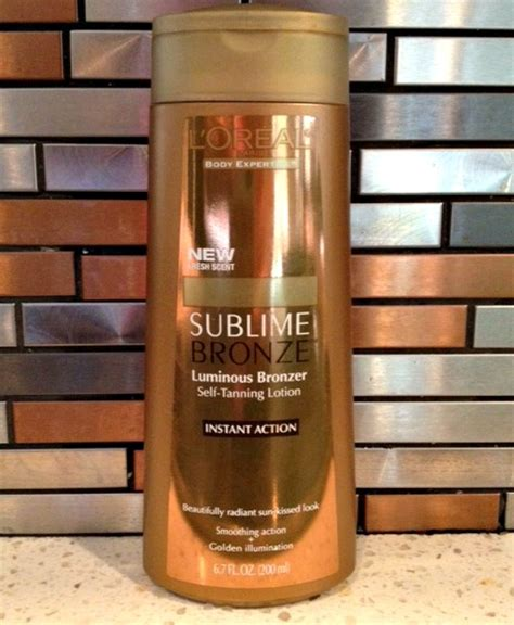 Review Loreal Sublime Glow by L Oreal Sublime Bronze Self Tanning Lotion Review Weve