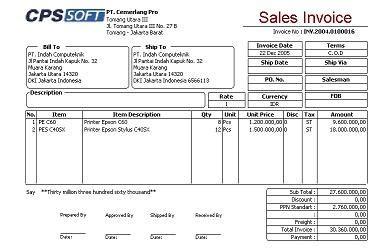 cara membuat faktur pajak di excel contoh form nota retur faktur pajak syd thomposon 2012