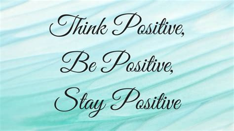 Think Be Positive think positive be positive stay positive nerdy book