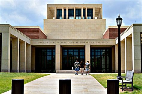 george w bush presidential library and museum three different directions
