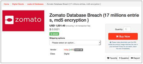 Email Zomato | zomato data breach nearly 17 million usernames and