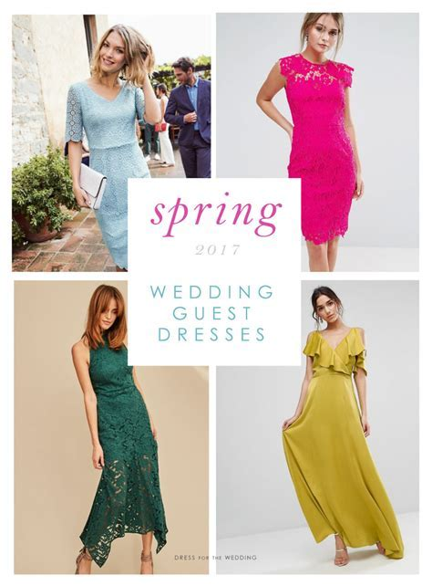 Beautiful Dresses to Wear as a Wedding Guest in Spring