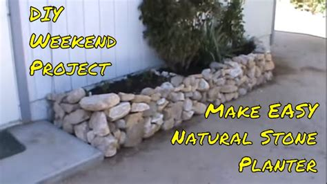 Rock Planters How To Make by Building The Raised Quot Quot Rock Planter Diy