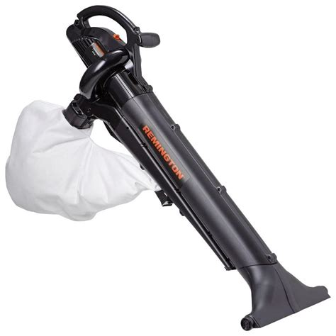 vacuum blower remington 150 mph 350 cfm 12 electric leaf blower