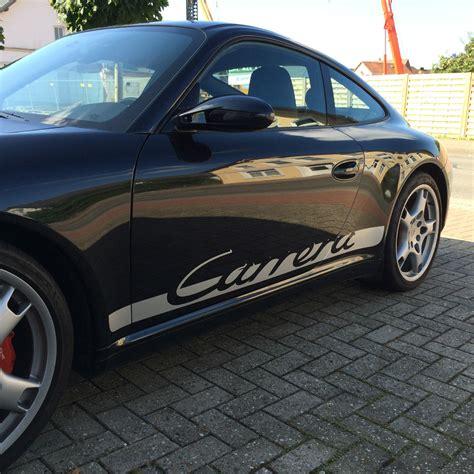 Porsche 996 Carrera Aufkleber by Porsche 911 996 997 Carrera Schriftz 252 Ge Streifen