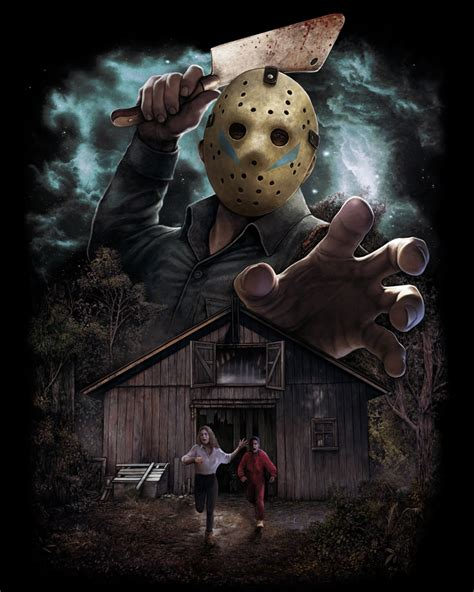 Kunci L Gagang T 6 Mm Jason friday the 13th part v a new beginning featured on fright rags new midnight madness t shirt