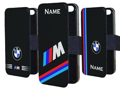 bmw  sport logo car badge personalised  phone case cover flip wallet gift ebay