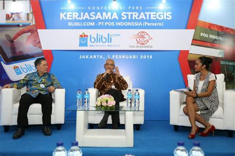 blibli retur blibli com gandeng pos indonesia jangkau pasar lebih luas