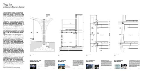 Large House Floor Plans by Toyo Ito Architecture Structure Material