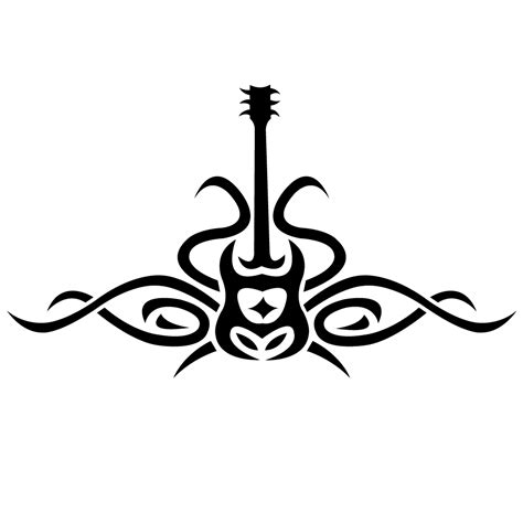 tribal music note tattoo tribal designs clipart best