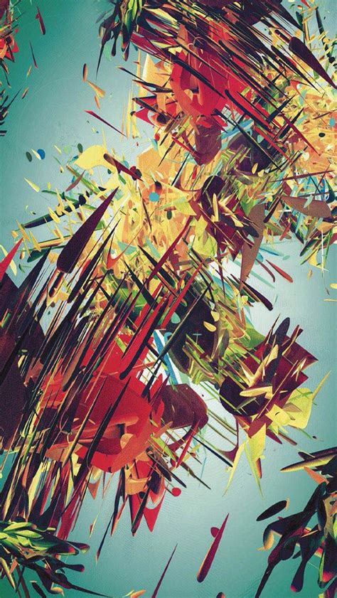 clever abstract iphone wallpapers  art lovers