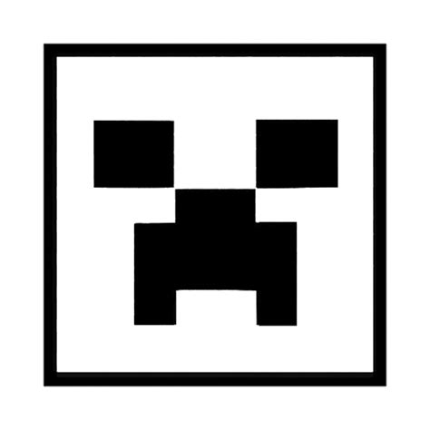 minecraft coloring pages creeper face free coloring pages of minecraft creeper face