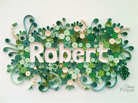paper quilling names tutorial quilled name quilled letterr green quilling by tihana