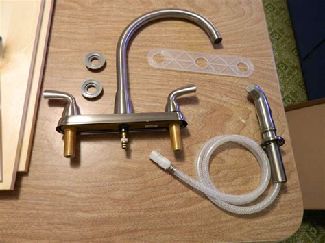 changing a kitchen sink faucet changing a delta kitchen faucet