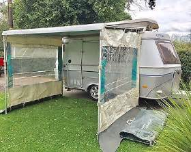 fiamma awning sides omnistor awning safari sides eriba vw cer motorhome thule fiamma caravan 163