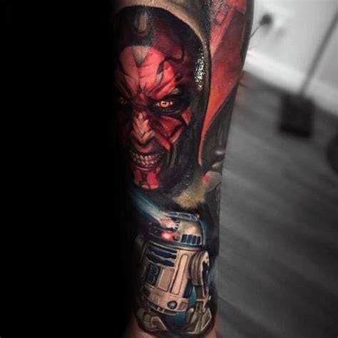 star wars tattoo sleeve 100 wars tattoos for masculine ink design ideas