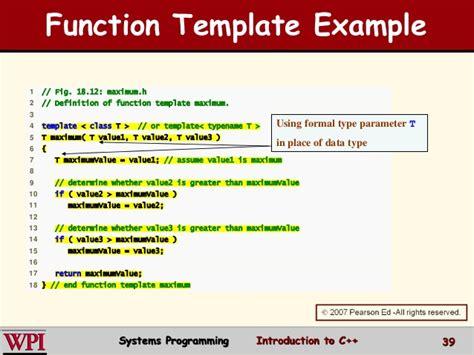 exiucu biz template function specialization
