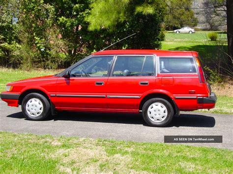Trac Toyota 1991 Toyota Corolla Dlx All Trac Wagon 5 Door 1 6lv