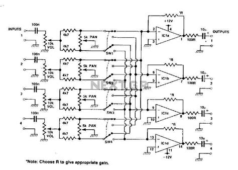 Power Lifier Behringer 4 channel power lifier circuit diagram wiring diagram