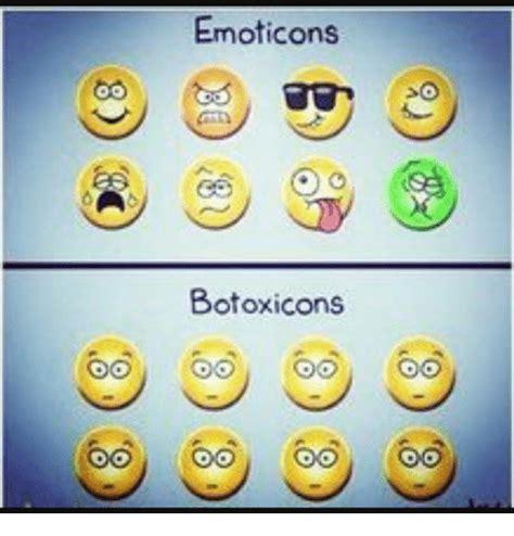 Memes Emoticons - emoticons botoxicons meme on sizzle