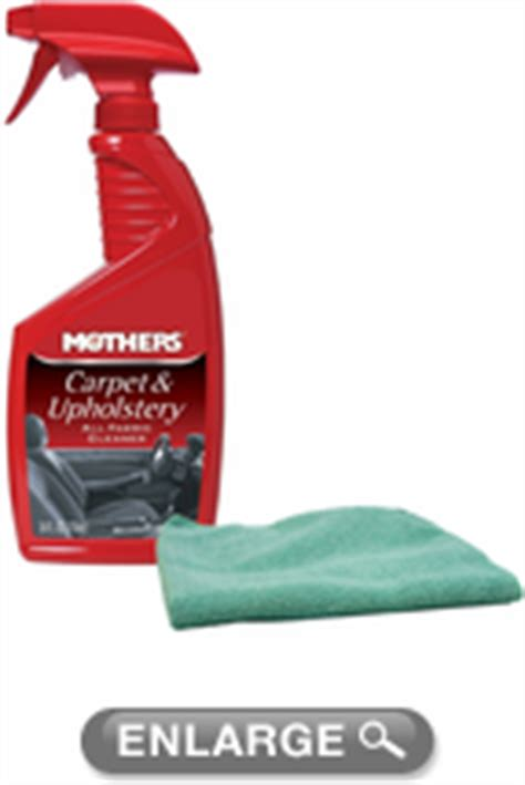 mothers carpet upholstery cleaner microfiber cloth kit