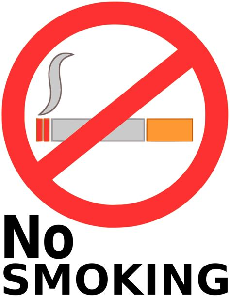 no smoking sign picture no smoking symbol clip art cliparts co