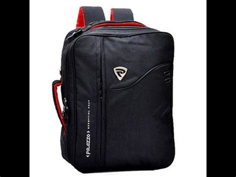 palazzo tas ransel backpack 3in1 hitam