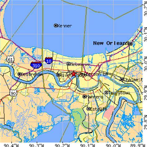 jefferson louisiana map jefferson louisiana la population data races