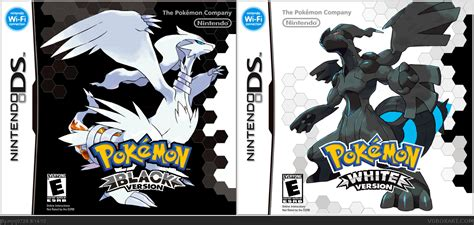 pokemon black reset game nintendo ds pokemon white version 2 box cover car