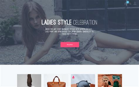 wordpress subcategory template rh ecommerce template 187 website templates