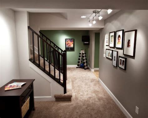 interior stair finishing ideas basement finished basement staircase railings design