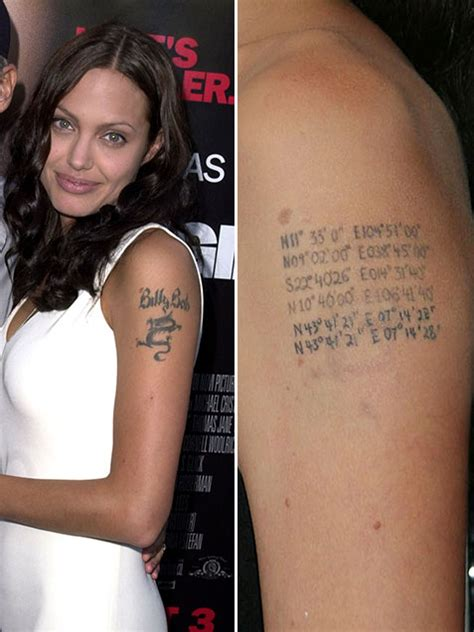 angelina jolie tattoo removal tattoo love