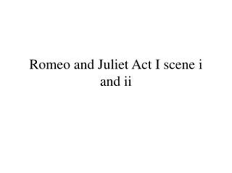 The Tragedy Of Romeo And Juliet Act 1 Worksheet Answers by Ppt The Tragedy Of Romeo And Juliet Act 1 4 And