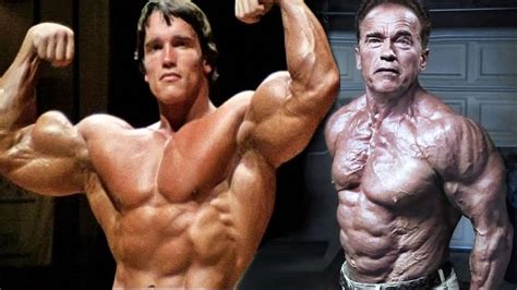 arnold schwarzenegger 41 years later then now