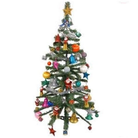 send decorated christmas tree small to india gifts to