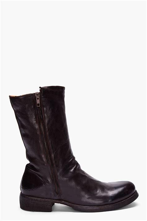 officine creative mens boots officine creative brown serrano tebano boots in brown