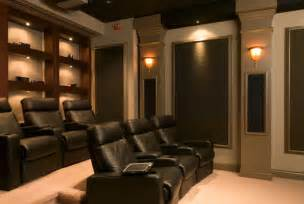 home theater room in home theaters contemporary home theater