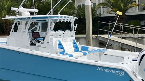 new freeman new freeman 42 pics the hull boating and fishing