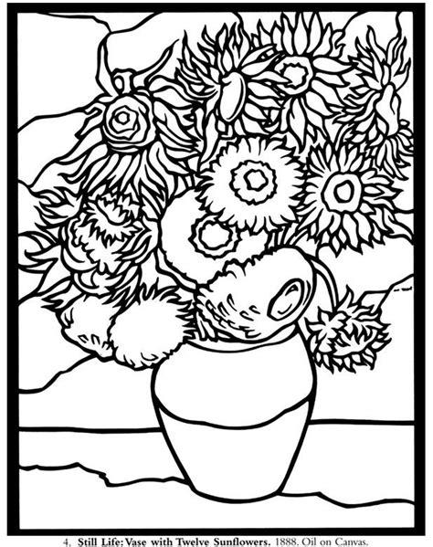 coloring book vincent van 3791343319 resultado de imagen de los girasoles colorear arte y artistas el girasol