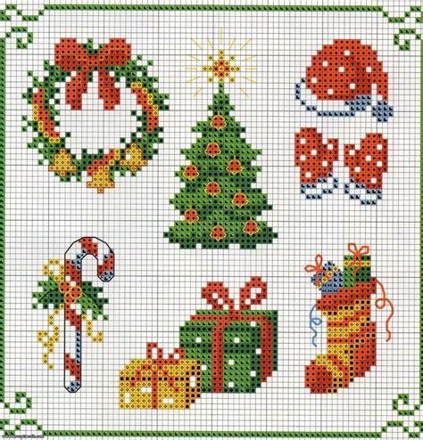 mini mantel navidad a punto de cruz youtube patrones punto cruz navidad gratis para imprimir imagui