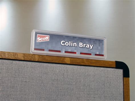 Printable Name Tags For Cubicles | desk name plates make your own desk signs