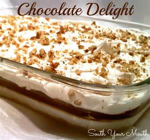 south your mouth chocolate delight