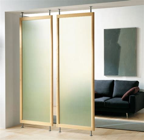 wonderful permanent room dividers with simple frame on