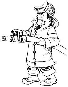 firemans colouring pages