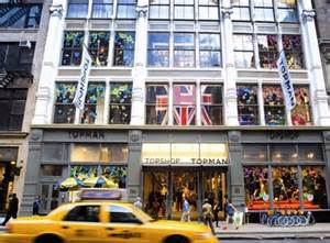 Topshop Plans Manhattan Stores sir philip green expands topshop in new york city daily
