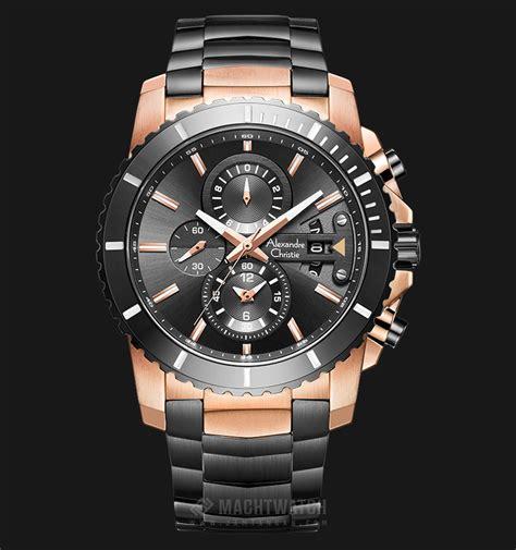 Jam Tangan Pria Alexandre Christie Ac 6455 Mc Bipbare Chronograph alexandre christie ac 6455 mc bbrba chronograph black