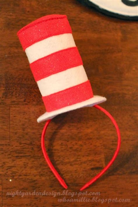 pattern for cat in the hat costume whoa millie the cat in the hat mini hats