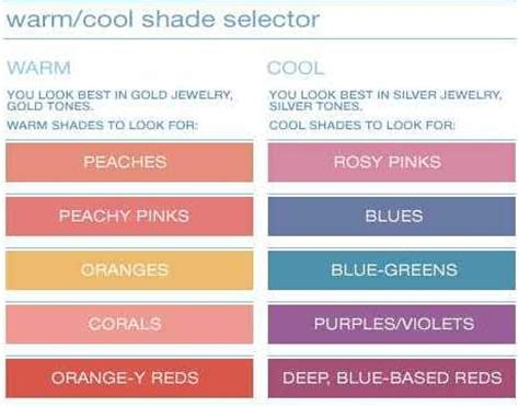 colors for cool skin tones determine your skin tone warm or cool